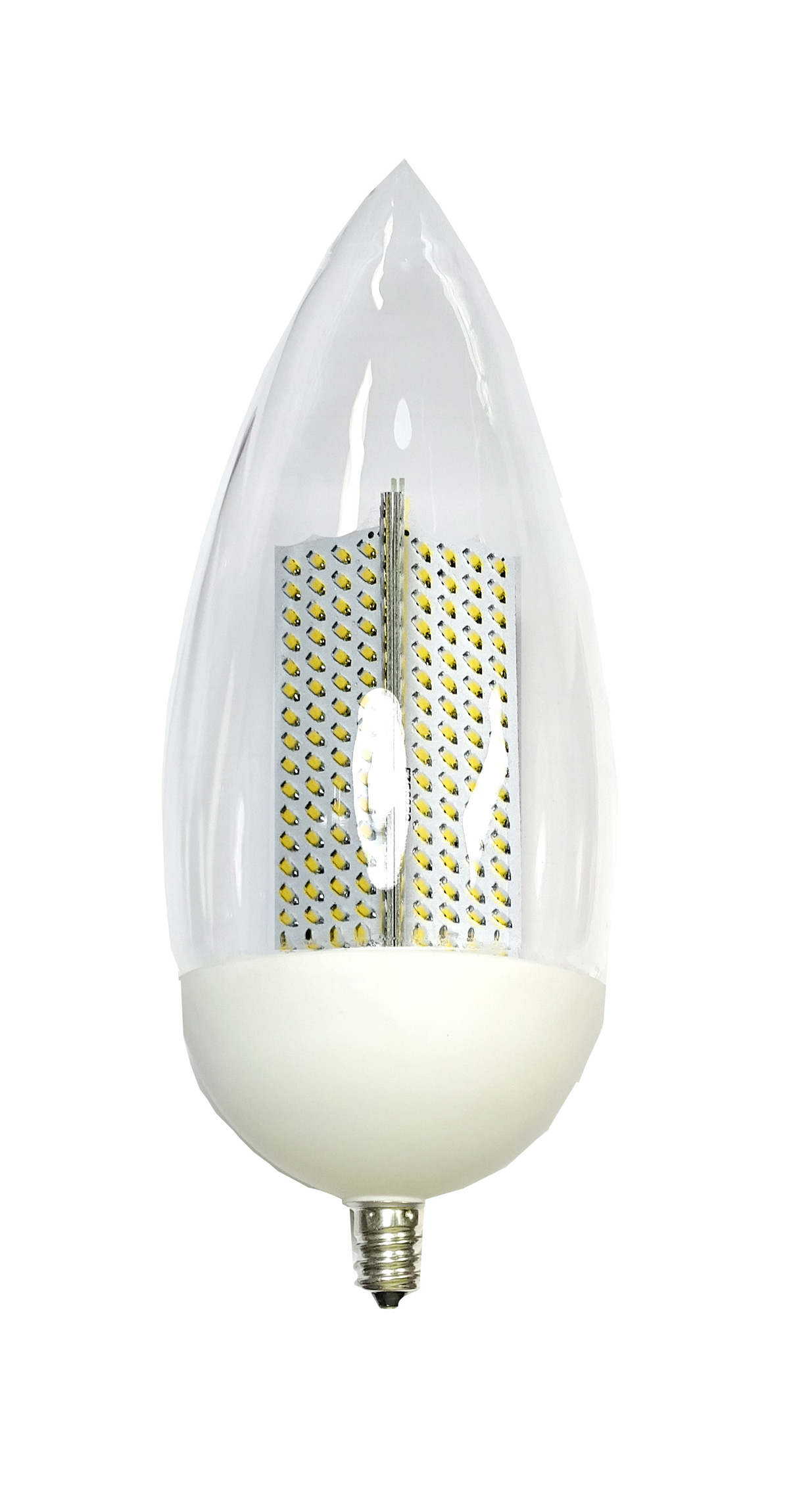 Flamebulb With Yellow Flame Or Platinum White Flame Led